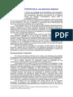 LOS PROYECTOS de AULA Una Alternativa Didáctica1