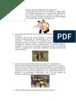 Beneficios de Las Actividades Fisicas Para El Organismo