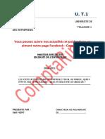 Les Vices de Procédure de Contrôle Fiscal Au Maroc, Quels Effets Sur La Procédure Nullité Relative