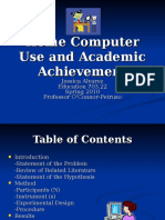 Home Computer Use and Academic Achievement Final ppt.ppt