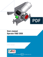 Eng Bekamatic Sc Intallation Motor Faac c850