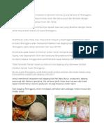Nasi Dagang Merupakan Masakan Tradisional Istimewa Yang Terkenal Di Terengganu
