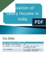 Taxation of Salary Income 2017 India