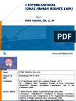 Hukum Ham Internasional (International Human Rights Law