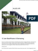 12 Jam BackPacker Di Semarang _ Sitishe