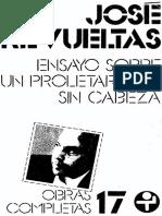 Revueltas Un Proletariado Sin Cabeza