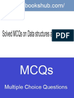 Solved MCQs on Data Structures and Algorithms