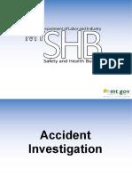 Accident Investigation AKS