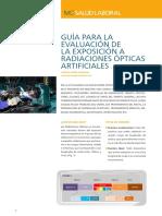 Radiaciones Opticas. Guia para Evaluac. a Exposic.a Radiac.Opticas.pdf