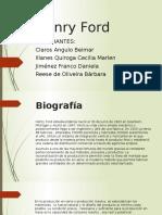 Henry Ford Diapositivas