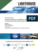 Autonomous Safety on Vessels - Webb