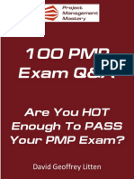 100 Hot Pmp Questions Answers