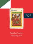 Tourism Unit Policy 2015