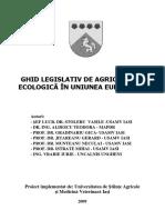 Ghid Legislativ de Agricultură Ecol