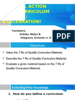 7 Rs of Curriculum Materials