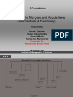 Alternatives to Mergers and Acquisitions