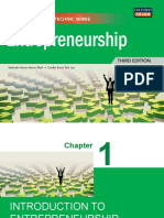 Chapter1 Introduction to Entrepreneurship
