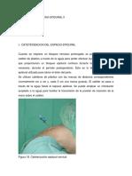 Bloqueo y Anestesia Epidural II