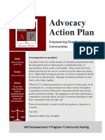 advocacy action plan packet