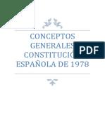 Esquema Principios Generales de La Constitución