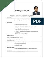 CV Muzaffar Sultan Khan
