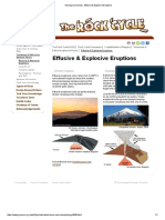 Geological Society - Effusive & Explosive Eruptions