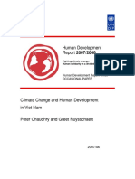 Climate Change and Human Development in Viet Nam