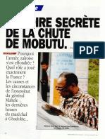 Histoire secrète de la chute de Mobutu