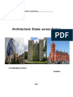 Atestat Architectural Styles Across Britain