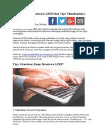 Contoh Essay Beasiswa LPDP Dan Tips Membuatnya