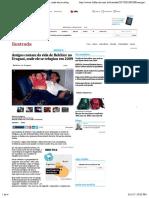 Amigos Contam Da Vida de Belchior No Uruguai, Onde Ele Se Refugiou Em 2009 - 10:05:2017 - Ilustrada - Folha de S.paulo