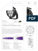 XR7 Driving Light