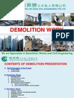 Demolition Works Presentation 07052017 HCE COMMENT 1