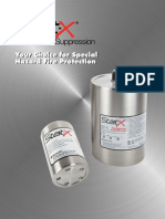 StatX Fire Suppression System Brochure