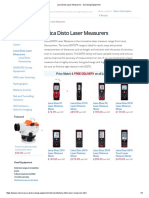 Leica Disto Laser Measurers - Surveying Equipment