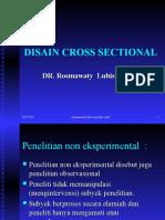 Kuliah 5. Disain Cross Sectional