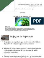 Aula 04 Projeção Populacional