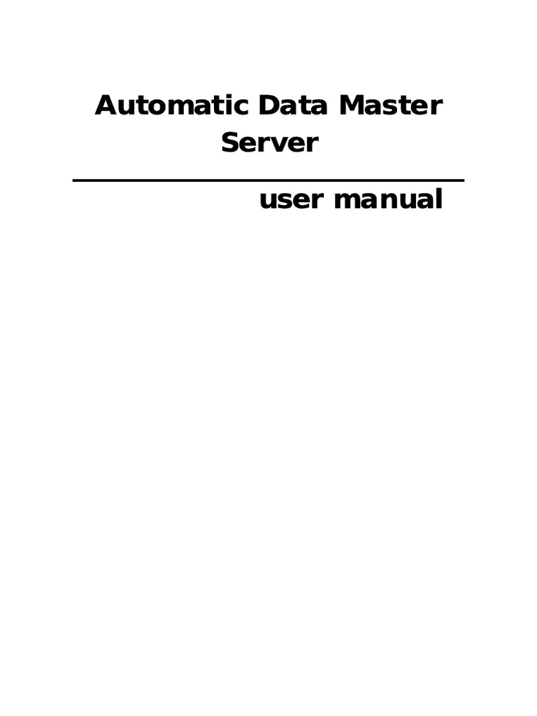 285469868 ADMS USer Manual | Ip Address | Installation (Computer