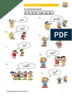 Lição 01 - Exercício 01 - Pronomes Pessoais, verbo SER e Profissões