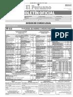 Diario Oficial El Peruano, Edición 9698. 17 de mayo de 2017