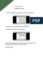 Backup-HP DataProtector Report Group Tutorial