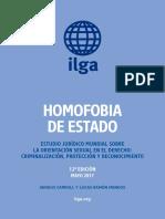 ILGA Homofobia de Estado 2017 ESP