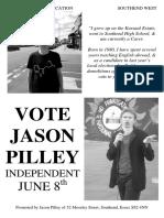 Jason Pilley 2017