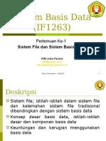 Pertemuan 01 - Sistem File