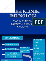 ASPEK KLINIK IMUNOLOGI