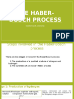 Haber Bosch Process, Revision of the Revised Edition 2017, 2017.pptx
