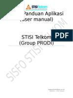 Sistisitel Grup Prodi Manual Editv2