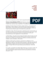 Proyectos Productivos de La Misión Ribas Reciben Financiamiento Del Fondo Nacional de Misiones