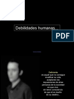 112-Debilidades Humanas