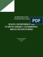 Desafios contemporâneos para os direitos humanos e socioambientais